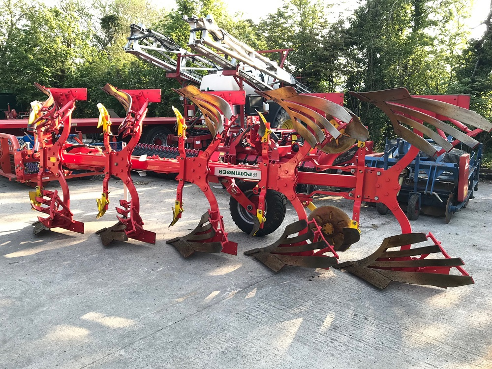 Pottinger Servo 35 S Plus 5 Furrow Plough thumbnail image
